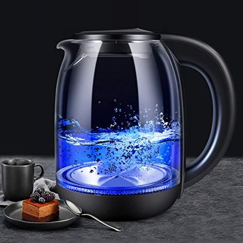 glass kettle led - 2