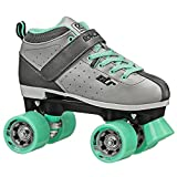 Roller Derby Str Seven Women's Roller Skate, Grey/Mint, 7
