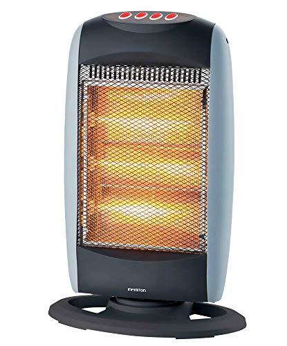 Calefactor Halogeno HAR-120 INFINITON 1200W (Control de Temperatura, Funcion Ventilador, Proteccion sobrecalentamiento, Anti-vuelco)