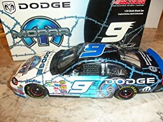 Action - Nascar - Kasey Kahne #9 - MOPAR Dodge Paint - 2004 Dodge Intrepid Hood Opens Trunk Opens HOTO 1:24 Scale Diecast Only 10,104 Produced Limited Edition Action Racing Collectables