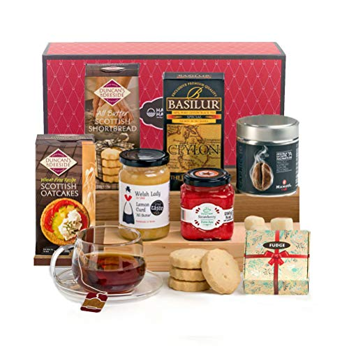 Traditional Tea Time Treats Hamper Gift Box - Mother's Day Idea