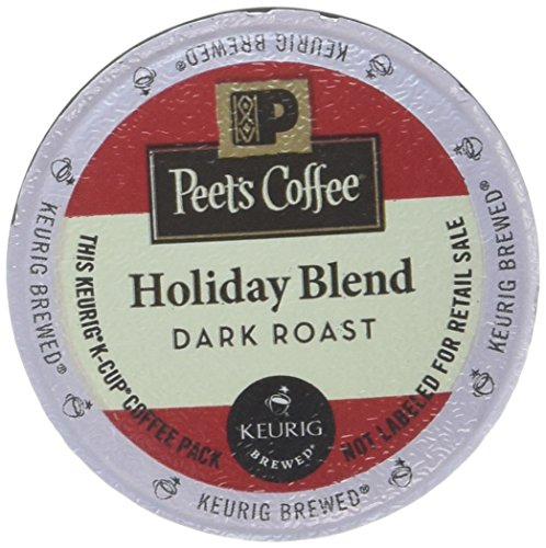 Peet's Coffee Holiday Blend K Cup Pack, 16Count
