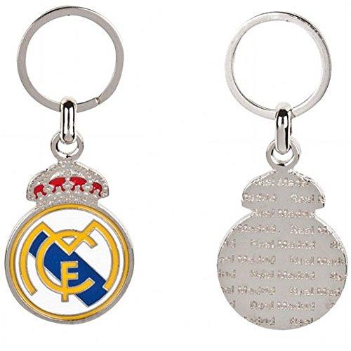 LLavero Real Madrid metálico escudo clásico con relieve [AB2179]