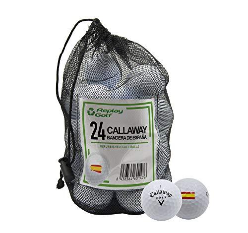 REPLAY GOLF Callaway Mix, Refurbished Bandera de España, Calidad A, Malla de...