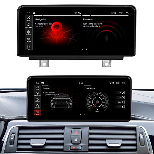 Koason Android 10.25 inch HD1920 Screen Display Monitor 4G LTE Multimedia Player GPS Navigation for BMW F20/F21/F23/F30/ F31/F32/F33/F34/F36/F80/F82/F83/F84 NBT