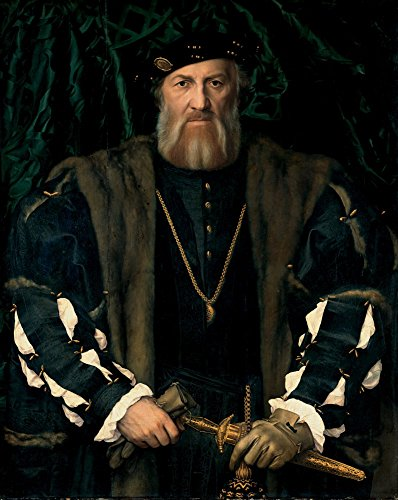 Das Museum Outlet–Portrait Of Charles de Solier Romero, Sieur de Morette. 1534–1535(gemaldegalerie Alte Meister), gespannte Leinwand Galerie verpackt. 29,7x 41,9cm