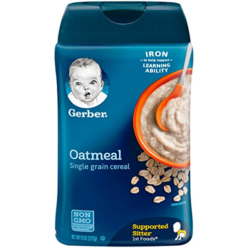 Gerber Single-Grain Oatmeal Baby Cereal