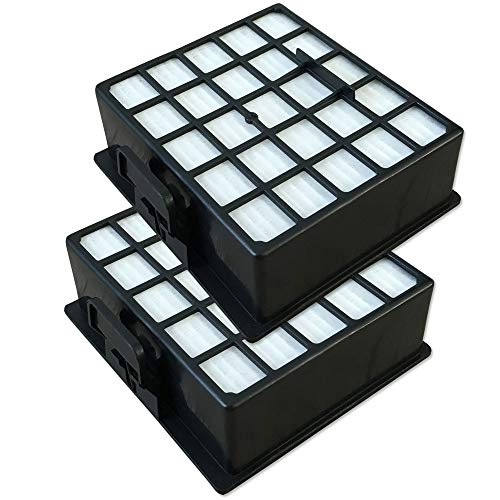 Set - 2 Filtro HEPA para Aspiradoras Bosch GL-40 Bagless Pro Parquet Hepa 2200W - BSGL42282/01, BSGL42283/01