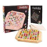 Faironly Sudoku Mathematikbrett aus Holz, arabische Ziffern, Spielzeug wie abgebildet -