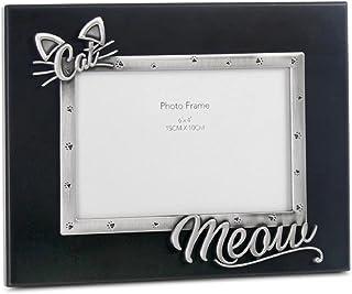 WNGGADH Cadre photo pour chien et chat en alliage de zinc pour cadre photo de 10,2 x 15,2 cm