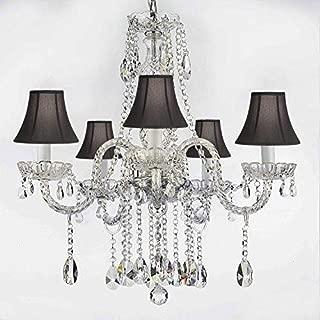 capiz tiered small hardwire chandelier