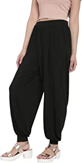 Go Colors Women's Viscose stretch Harem Pants