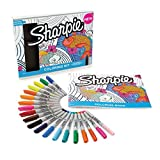 Marcador permanente Sharpie de punta fina, color varios colores Colouring kit