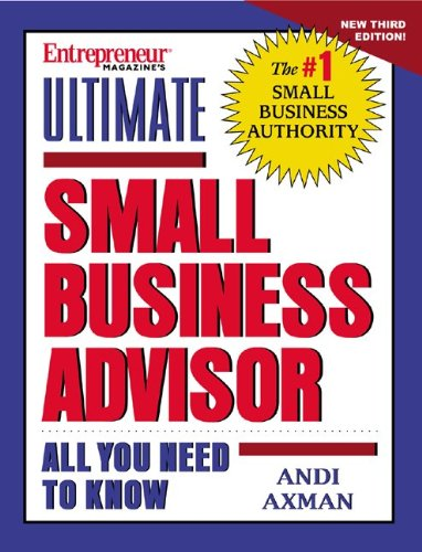 Ultimate Small Business Advisor (with CD)