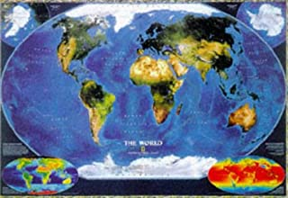 World Satellite Map (Reference Maps)