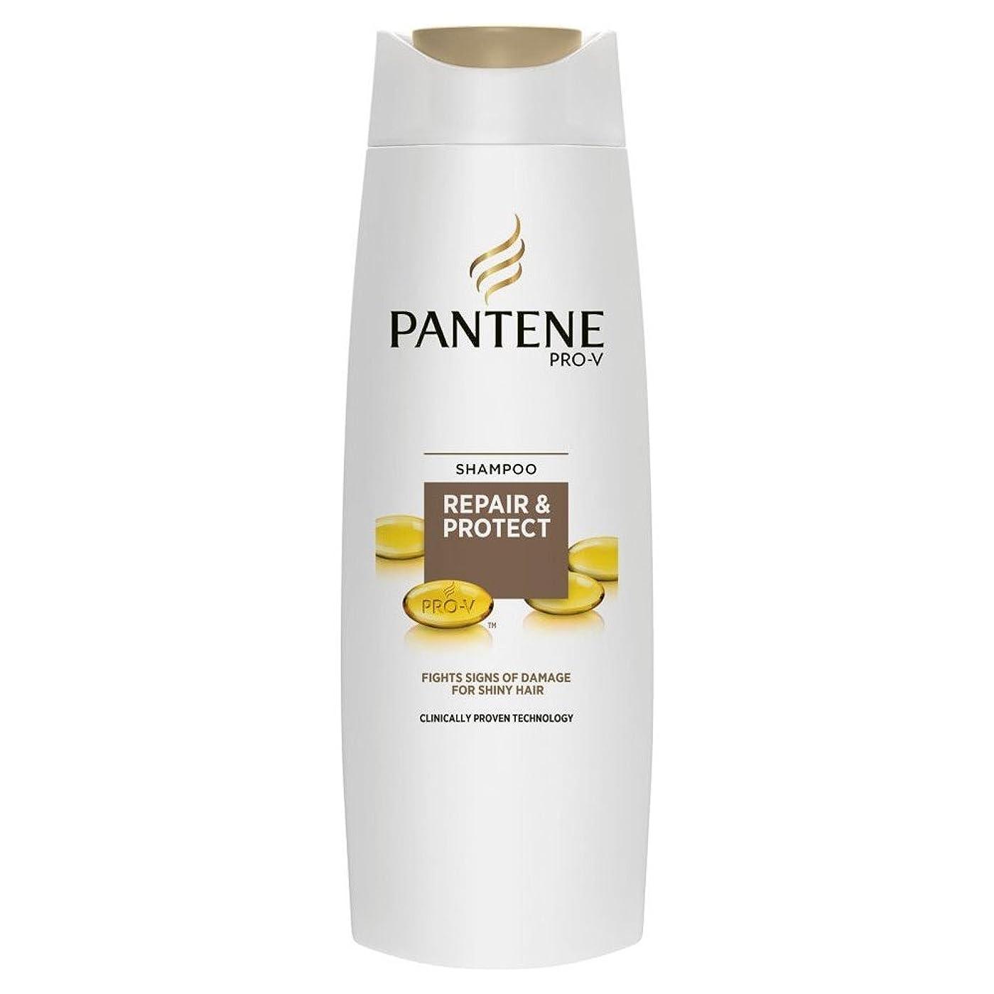 貫通刈り取るトランスペアレントPantene Pro-V Repair & Protect Shampoo (250ml) パンテーンプロvの修理やシャンプーを保護( 250ミリリットル) [並行輸入品]