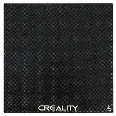 Creality 3D Printer Platform, Upgraded Removable Build Platform Printing Surface Heated Bed Platform Glass Bed Support, Tempered Glass Plate for Ender CR-10, CR-10s, CR-10V2 3D Printer 310mm310mm