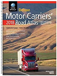 Rand Mcnally 2018 Motor Carriers' Road Atlas Deluxe Edition - Spiral Bound
