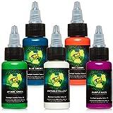 Millennium Mom's Nuclear UV Blacklight Tattoo Ink - 5...