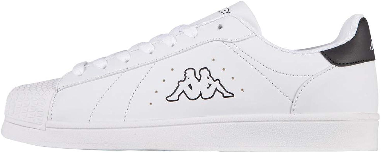 Kappa Olymp Sneaker Unisex shoes Trainers White Black