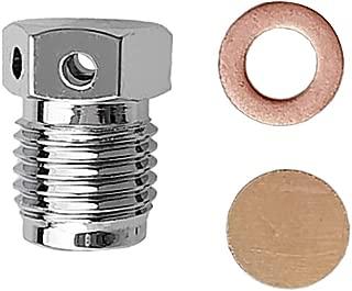3Pcs Burst Disc Assembly (Gasket & Piece & Nut) for Scuba Diving Tank Valve Dive Cylinder 5250psi/3000psi