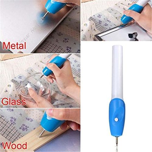 Foreverstore Electric Etching Engraved Engrave Carve Tool Steel Jewellery Engraver Pen