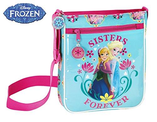 Disney La Reine des neiges 21 cm Sisters Forever Mini Sac à bandoulière, Rose