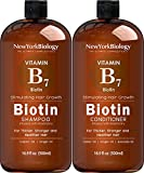 Biotin Shampoo and Conditioner Set for Hair Growth and Thinning Hair – Thickening Formula for Hair Loss Treatment –...
