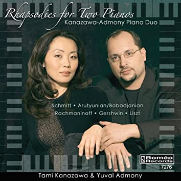 Rhapsodies for Two Pianos