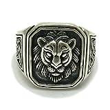 Sterling silber 925 Ring Löwe R001704