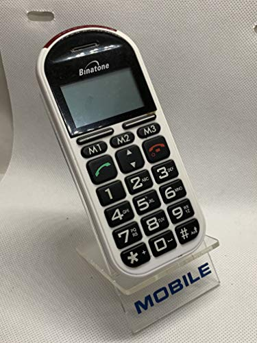 Binatone BB200 Simple Mobile Color Blanco teléfono móvil