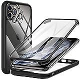 KKM Kompatibel mit iPhone 11 Pro Hülle Eingebaute Displayschutzfolie, [Militärqualität] 360 Grad...