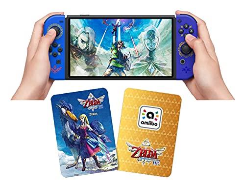 Zelda & Loftwing NFC Tags Amiibo Karte für The Legend of Zelda Skyward Sword Kompatibel mit Switch/Switch Lite/Wii U