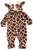 Sozo Unisex-Baby Newborn Giraffe Cuddle Coverall, Brown/tan, 3-6 Months
