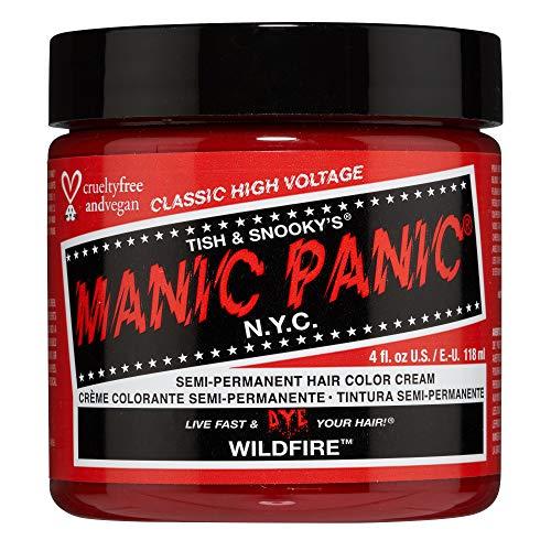 Manic Panic Cream Semi-Permanent Hair Color - Wildfire