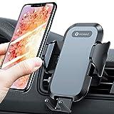 VICSEED Soporte de teléfono móvil para el coche, universal, rotación de 360 grados, para todos los smartphones, iPhone 12 Mini 11 Pro XS Max XR X 8 7 6 Plus, Samsung S21 S20 S10 S9 S8 S7, Huawei, etc.