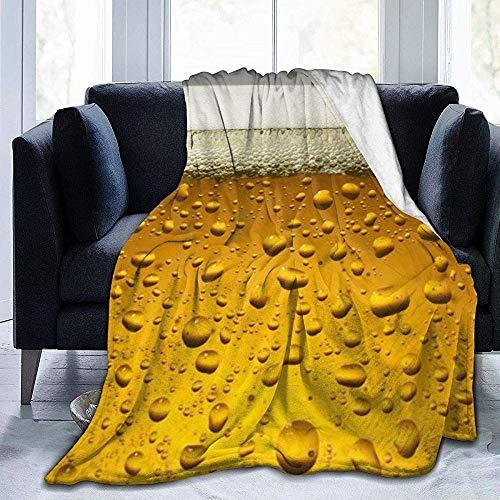 Nazi Mie Bier Tapete Drucken Ultra-Soft Micro Fleece Decke werfen leichte warme Decke für Bett Wohnzimmer