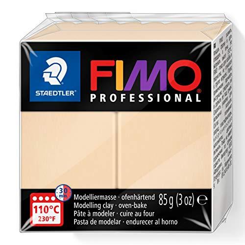 Staedtler - Fimo Professional - Pain Pâte à Modeler 85 g Champagne