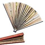 IF Book Fan - Red Fan, páginas de Libros Antiguos...