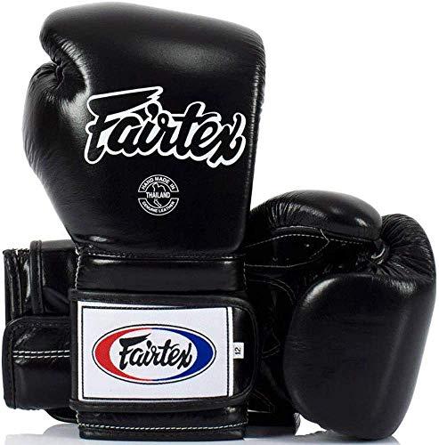 Fairtex Heavy Hitter's Boxhandschuh - Mexican Style (BGV9), schwarz, 16 Unzen