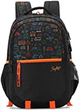Skybags Figo Plus 07 34 Ltrs Black Casual Backpack (FIGO Plus 07)