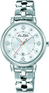 Alba Watch For Women - Casual Watch / Silver , Stainless Steel - Ah7L57X1