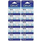 20 DNA Batteria Plus pila a Bottone Alcalina AG13/LR44/LR1154/357