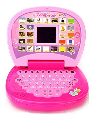 Revent ABC & 123 Kids Learning Educational Laptop Pink Color