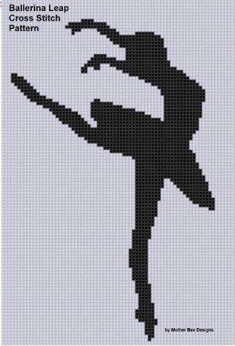 Ballerina Leap Cross Stitch Pattern (English Edition)