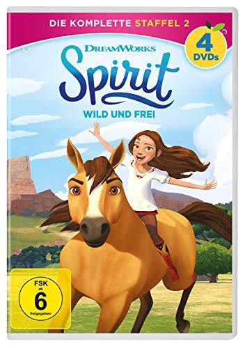 Spirit - Wild und frei: Die komplette Staffel 2 [4 DVDs]