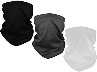 Neck Gaiters Face Mask Multifunctional Bandana Face Mask for Dust-Proof Windproof UV Protection for Men & Women