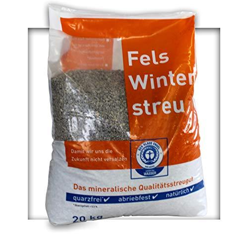 20 kg umweltfreundlicher Streusplitt Kalksplitt Streugut 2/5mm Salzfrei Winterstreu Splitt ohne Salz