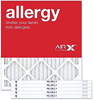Best AIRx ALLERGY 18x20x1 MERV 11 Pleated Air Filter - Made in the USA - Box of 6 Review