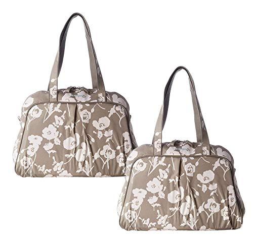 VDP 2X Gepäckträgertasche Basil Elegance-Carry Doppelpack Fahrradtasche 35x15x40cm